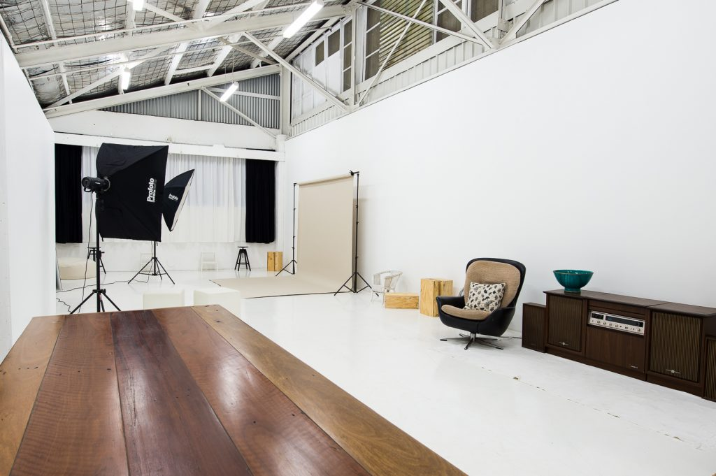 warehouse studio hire sydney photography meetings