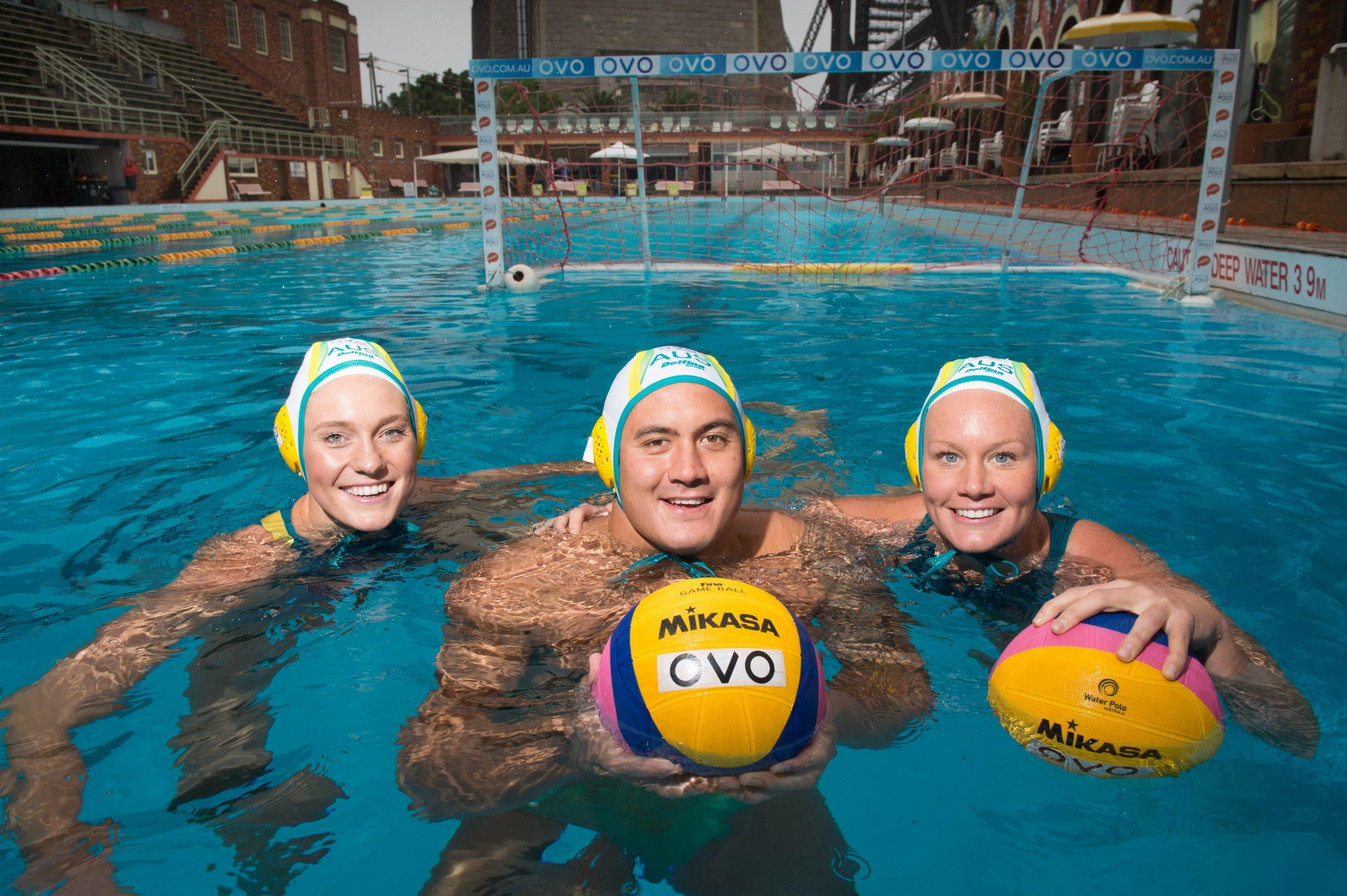 OVO mobile Water Polo Australia partnership