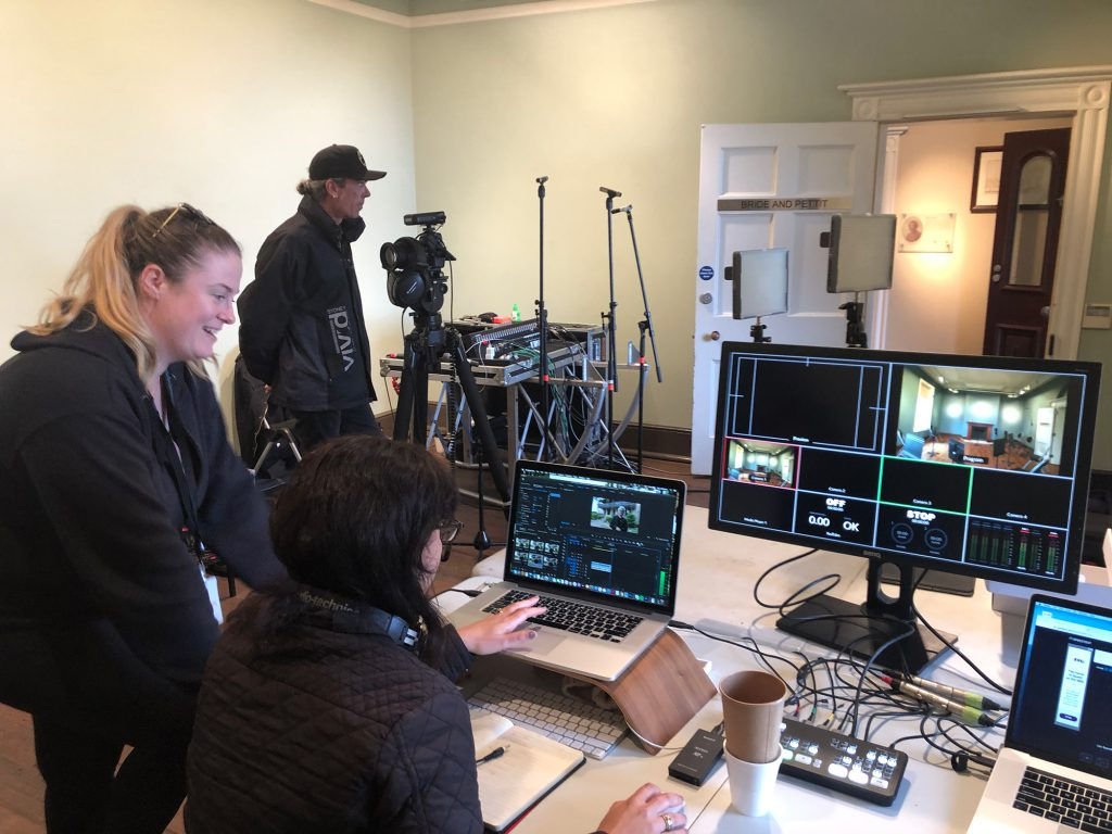 BTS Livestream and audio desk / by Narrative Post