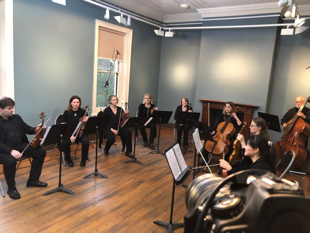 Behind the scenes with Ryde Hunters Hill Orchestra / by Narrative Post